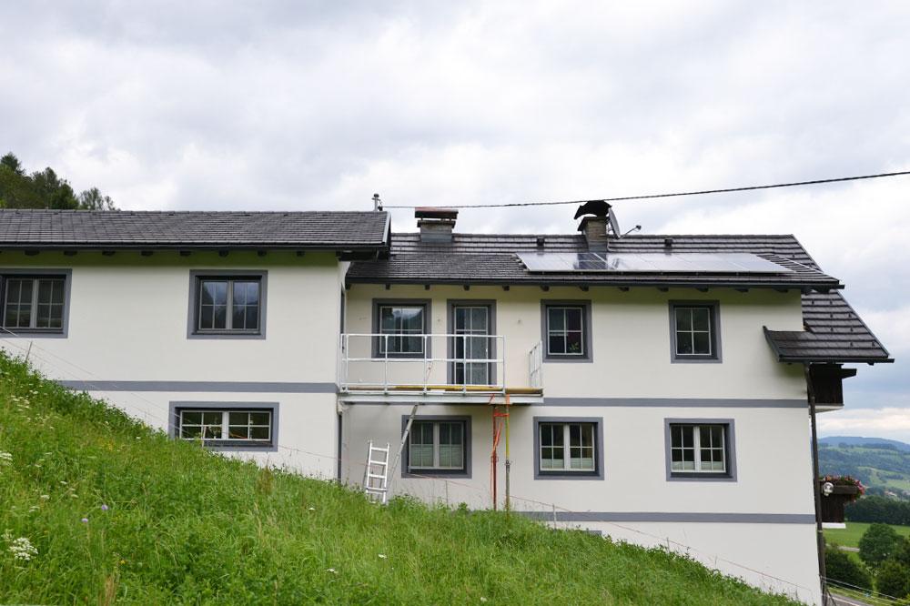 Foto_Umbau_Privathaus_Lercher, Außenansicht