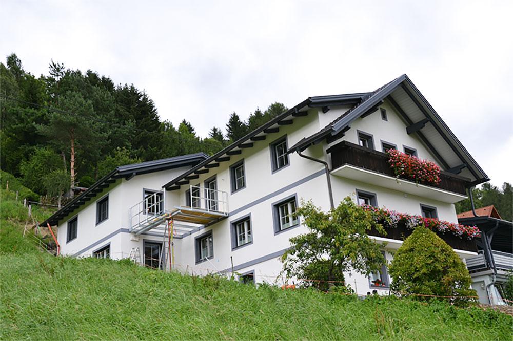 Foto Außenansicht Privathaus Lercher