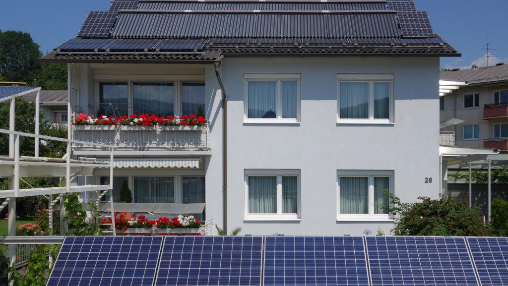 Foto Außenansicht Ökohaus-Althaus