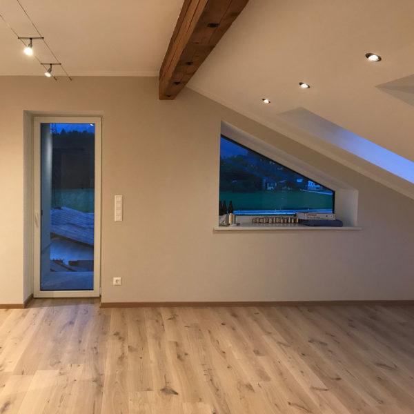 Foto Dachgeschoss fertig