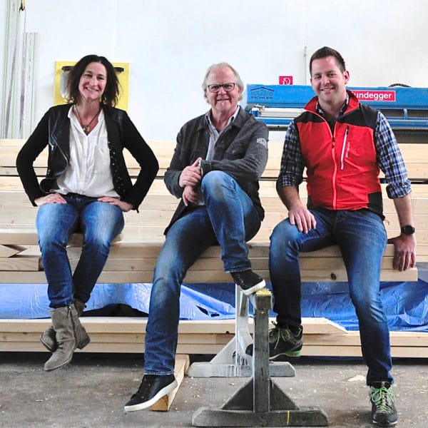 Teamfoto Holzbau Pichler