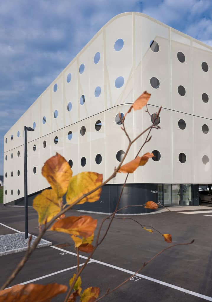 Firmengebäude Sperer Acoustics